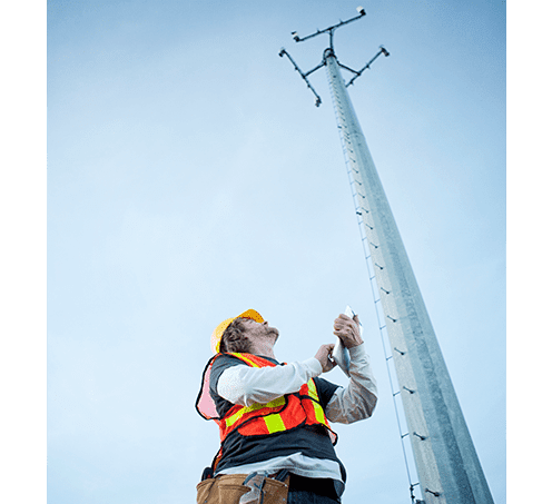 HR_Man working on cell tower