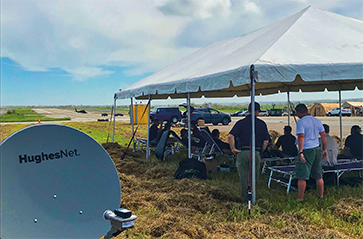 HughesNet Satellite Helping Remote Projects