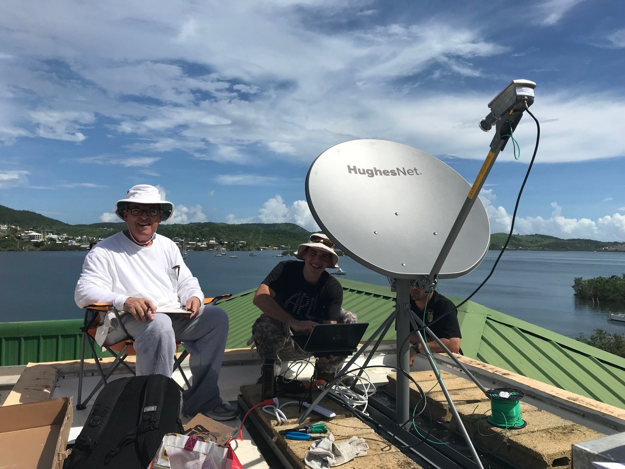 hughesnet satellite in puerto rico